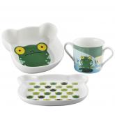 Coffret 3 pièces Froggy Sambonet