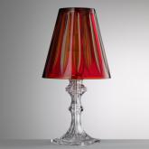 Lampe Rouge Piramide Acrylique Giusti