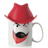 Mug Clint: tasse à chapeau E-my
