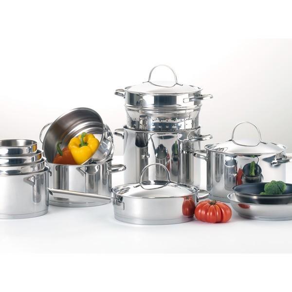 """Modèle """"Elysee"""", marque Cuisinox. Cette gamme de produits Culinaire """"Elysée"""" Cuisinox en acier 18/10"""