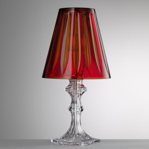 -40% Lampe Rouge Piramide Acrylique Giusti. Lampe Rouge Piramide Acrylique Giusti