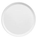 Assiette plate Yaka Blanc Médard de Noblat, diamètre 27 cm. Vendues par 6.. Assiette plate Yaka blanc Médard de Noblat, diamètre 27 cm. Moderne, prati