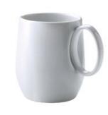 Mug Yaka Blanc Médard de Noblat, 40 cl. Vendu par 6.