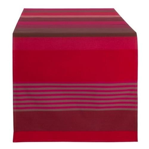 Chemin de table coloris ottoman aquaverde linge basque for Chemin de table 180 cm