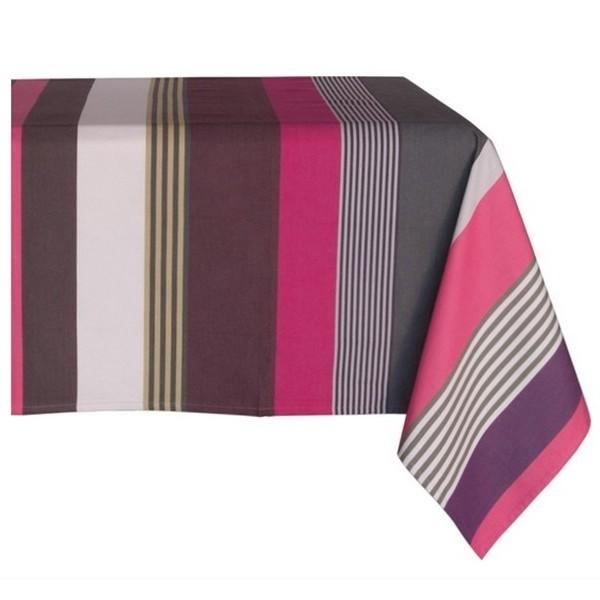 nappe coloris ottoman poudre linge basque marque. Black Bedroom Furniture Sets. Home Design Ideas