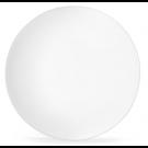 Assiette plate blanche COUPE Médart de Noblat (prix à l'unité, vendues par 6)