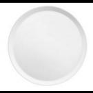 Assiette à dessert Yaka Blanc Médard de Noblat, diamètre 21,5 cm. Vendues par 6.