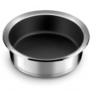 Sauteuse revêtue Ycône Cuisinox, Inox, diam 24cm