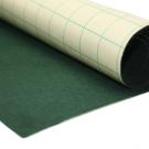 Coupon de tissu feutre  anti-oxydant Vert foncé autocollant pour couvrir la base du tiroir (45 x 70 cm)