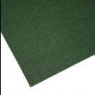 Coupon de tissu feutre anti-oxydant Vert foncé pour recouvrir les couverts (non adhésif) 70 x 45 cm.