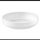Assiette à salade et pâtes Yaka Blanc Médard de Noblat, diamètre 20 cm. Vendues par 6.