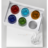 -50% Coffret 6 verres Multicolore Milly Mario Luca Giusti