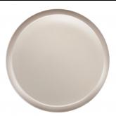 Assiette à dessert Yaka Taupe Médard de Noblat, diamètre 21,5 cm. Vendues par 6.