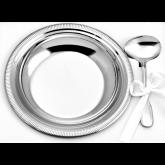 Assiette et cuillère pour enfant en inox