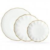 Service Porcelaine Corail Or Médard de Noblat
