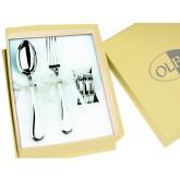 Cuillère, Fourchette et rond de serviette Olri