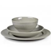 Assiettes, mugs et bols Grain de Malice Gris Médart de Noblat