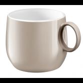 Tasse à café/thé Yaka Taupe Médard de Noblat, 20 cl. Vendues par 6.