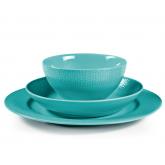 Assiettes, mugs et bols Grain de Malice Turquoise Médart de Noblat