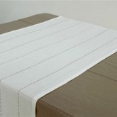 -50% Nappe Unie 150 x 250 cm, Olive, Galet ou Blanche.