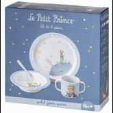 Coffret 4 pièces le petit prince bleu.