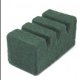 Support Vert foncé pour 3 pièces de service