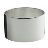 Rond de serviette Ercuis Mistral en métal argenté