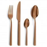 -50% Ménagère 16 pièces Amefa Square PVD couleur cuivre