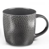 Tasse à café et thé Grise foncé Stone Médard de Noblat, contenance 28cl.