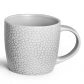 Tasse à café et thé Grise clair Stone Médard de Noblat, contenance 28cl.