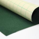 Coupon de tissu feutre Vert foncé autocollant pour couvrir la base du tiroir