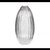 -37% Vase Hubsch 15 x 30 cm en verre transparent