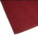 Coupon de tissu feutre  anti-oxydant Bordeaux pour recouvrir les couverts (non adhésif) 70 x 45 cm.