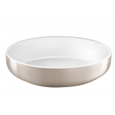 Dessert plate Yaka Blanc Médard de Noblat, diameter 21.5 cm. Sold by 6.