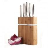 """5 Couteaux bloc bambou,Richardson """"Forme"""""""
