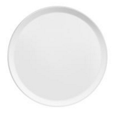 Yaka White plate Medard of Noblat, diameter 27 cm. Sold by 6.