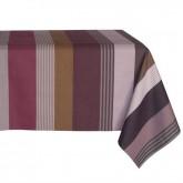 -50% Nappe pour 10 couverts Ottoman Prunelle Tissage de Luz 180 x 250 cm